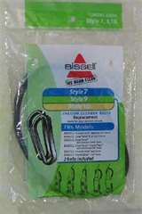 Bissell Style 7, 9, 10, 12, 16 Belt 2pk