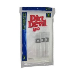 Dirt Devil Type E Paper Bags 3pk #3070147001