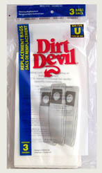 Dirt Devil Type U Paper Bags 3pk #3920041001