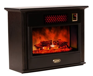 Sunheat Electronic Infrared Fireplace Color: Black