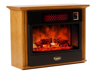 Sunheat Electronic Infrared Fireplace Color: Golden Oak