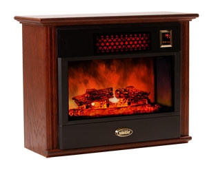 Sunheat Electronic Infrared Fireplace Color: Mahogany