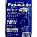 Panasonic Type U-3 Paper Bags 3pk #MC-115P
