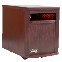 Sunheat Electronic Infrared Zone Heater Color: Black Cherry