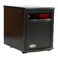 Sunheat Electronic Infrared Zone Heater Color: Black