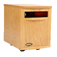 Sunheat Electronic Infrared Zone Heater Color: Natural Oak