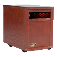 Sunheat Electronic Infrared Zone Heater Color: Mahogany