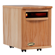 Sunheat Electronic Infrared Zone Heater Color: Golden Oak